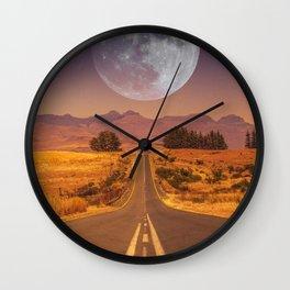 Lunar 2 Wall Clock