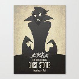 Ghost Stories - Minimalist Board Games 11 Canvas Print