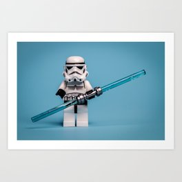 Darth Trooper Art Print