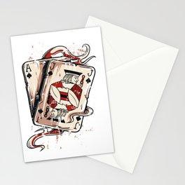 Blackjack Stationery Cards