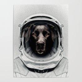 Pluto Astro Dog Poster