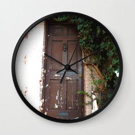 Georgetown Brick and Vine Wall Clock