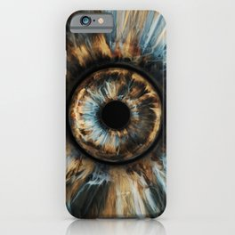 """WWP°282 """"Storm Of The Eye"""" iPhone Case"""