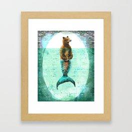 Mer-Bear - West Coast wonders rarely seen Framed Art Print