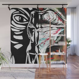 Hips vs. Lips Wall Mural