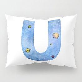 Galaxy Alphabet Series: U Pillow Sham