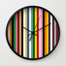 Japan colours Wall Clock