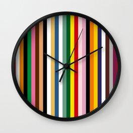 Japan colours Wall Clock