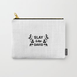 Slay Like David Carry-All Pouch