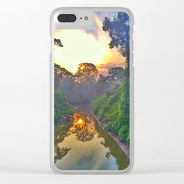 from secoya territory Clear iPhone Case