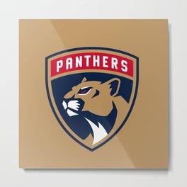Florida Panther nice logo Metal Print