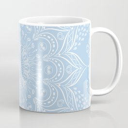Baby Blue Boho Mandala Coffee Mug
