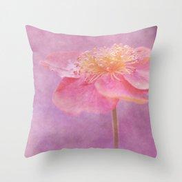 Romantic Flower Throw Pillow