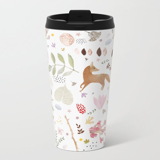 little foxes Metal Travel Mug