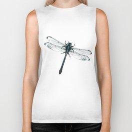 Dragonfly vector Biker Tank