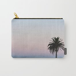 Pastel Palm Carry-All Pouch
