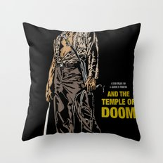 Indiana Jones: And the Temple of Doom Throw Pillow