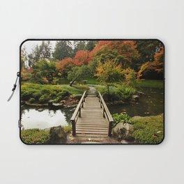 Bridge to Happiness, Autumn Laptop Sleeve