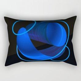 Wood Night 1 Rectangular Pillow