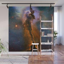 Stellar Spire in the Eagle Nebula Wall Mural
