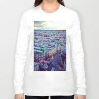 vienna Long Sleeve T-shirts featuring Vienna by SandraHuezo