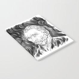 Van Gogh in black Notebook