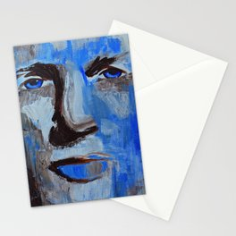 Blue Man Stationery Cards