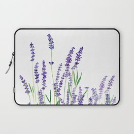 lavender watercolor horizontal Laptop Sleeve