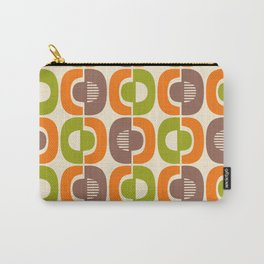Retro Mid Century Modern Pattern 349 Carry-All Pouch