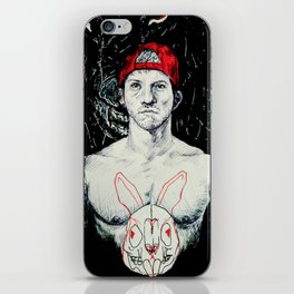 Like a Dog Inspires a Rabbit iPhone Skin