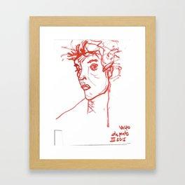 inspired in Egon Schiele 02 Framed Art Print