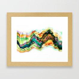 Frequency Number Nine Framed Art Print
