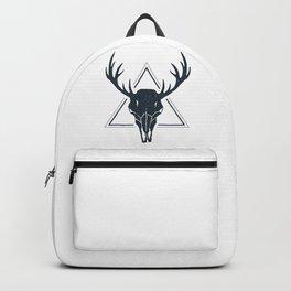 Skull Of A Deer. Geometric Style Backpack