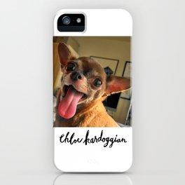 Chloe Kardoggian iPhone Case