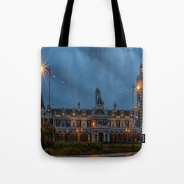 Dunedin Railway Station, New Zealand Tote Bag