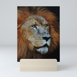 The Lion of Judah Mini Art Print