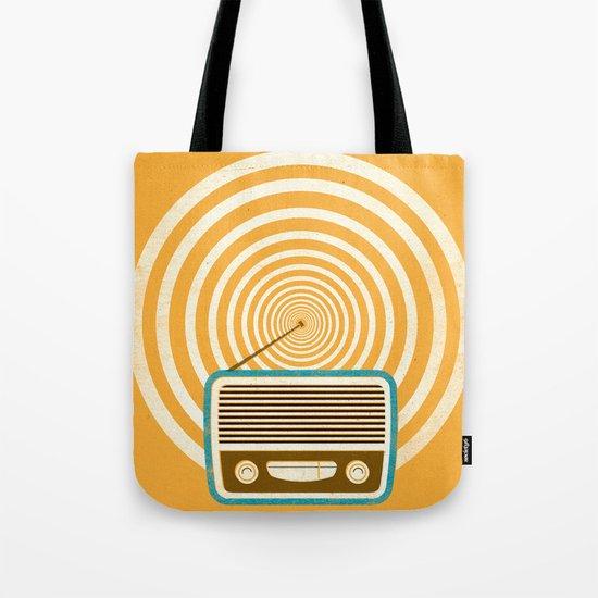 Mixed Signals - Yellow Tote Bag