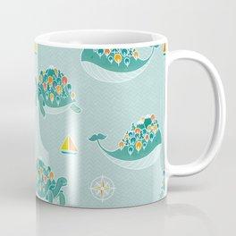 Whaleshire and Turtleland Coffee Mug