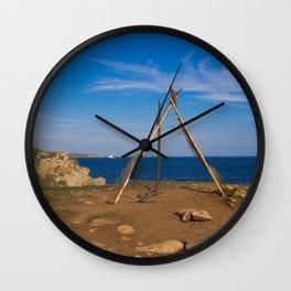Punta Cometa Wall Clock