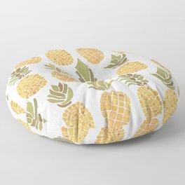 Vintage Pineapple Show Floor Pillow