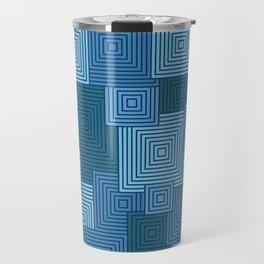 Blue Platformer Travel Mug