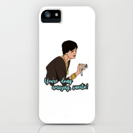 Sweetie | @makemeunison Digital Art iPhone Case