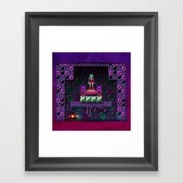 Metroid - Justin Bailey Framed Art Print