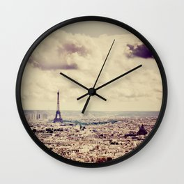 La Tour Eiffel Wall Clock