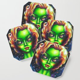 Iconic Alien Women: Marilyn Coaster