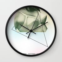 jack Wall Clocks featuring Jack by Lauren Miller