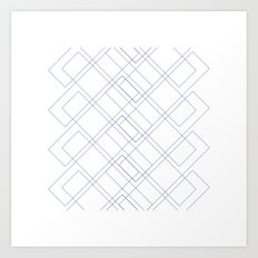#171 Seasonal migration – Geometry Daily Art Print