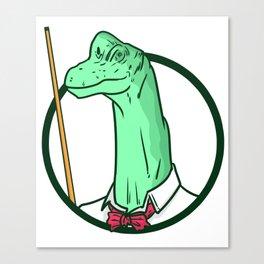 Billiard Cue Game Sport Funny Humor Gift Canvas Print