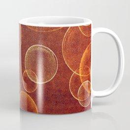 orange bubbles Coffee Mug