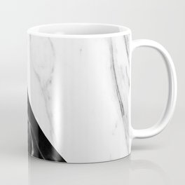 half black half white marble Coffee Mug